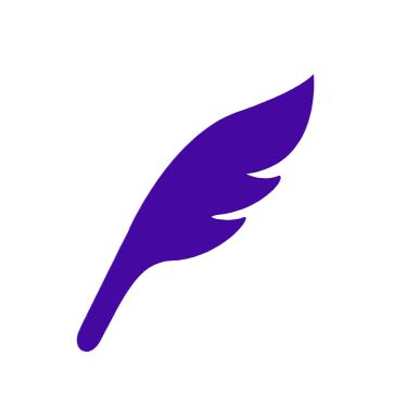 羽根のペン2